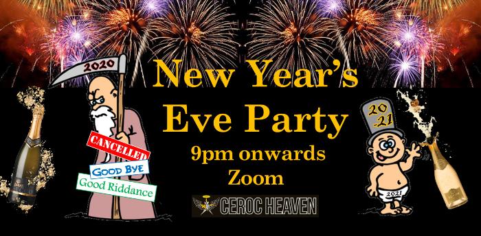 Ceroc Heaven NYE Zoom Party