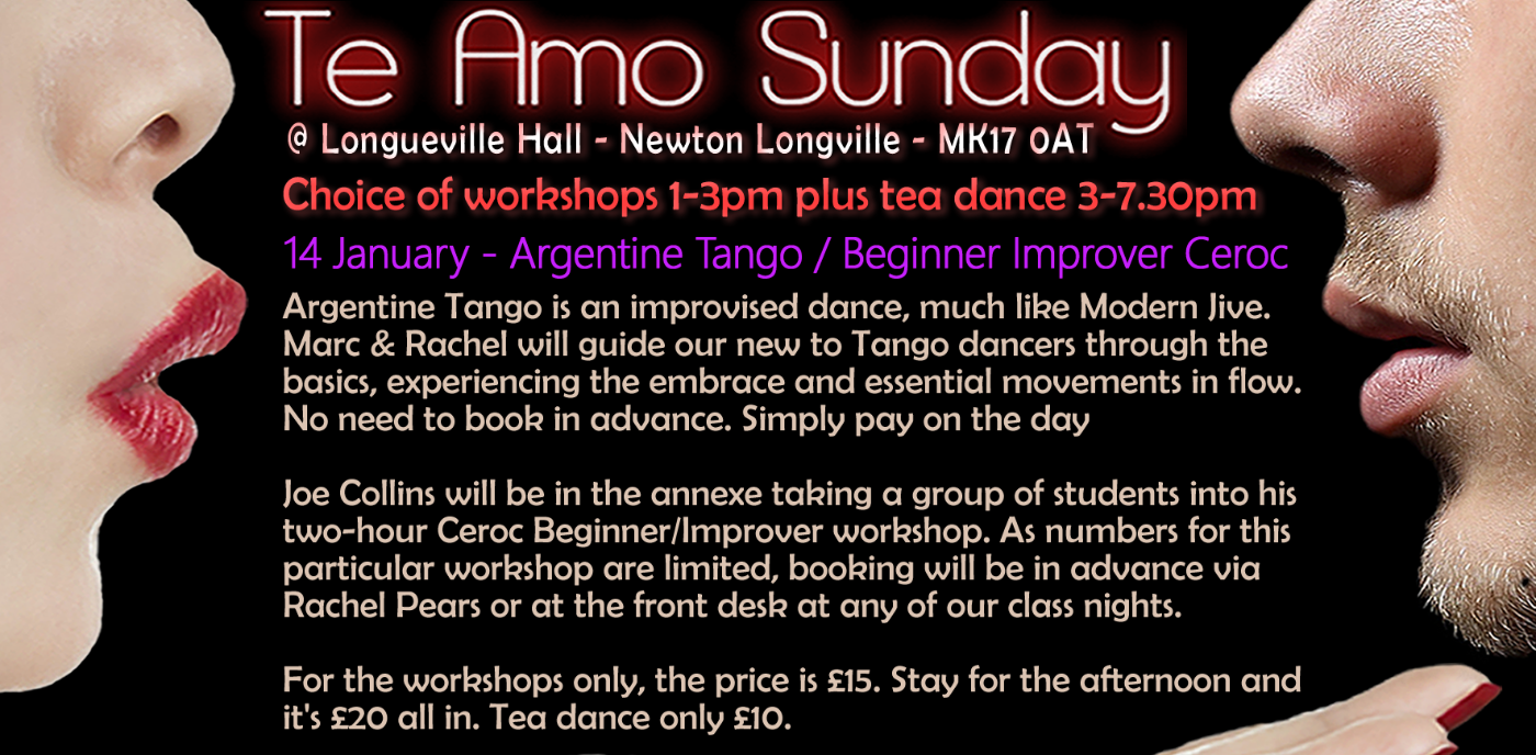 Argentine Tango for Beginners Workshop