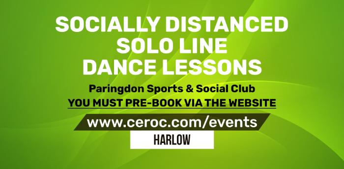 POSTPONED - Solo Line Dance Lessons THURSDAY 17 DEC 2020 Paringdon Sports & Social Club