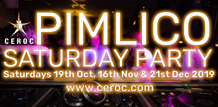 CANCELLED Pimlico Saturday Party Freestyle October 2019