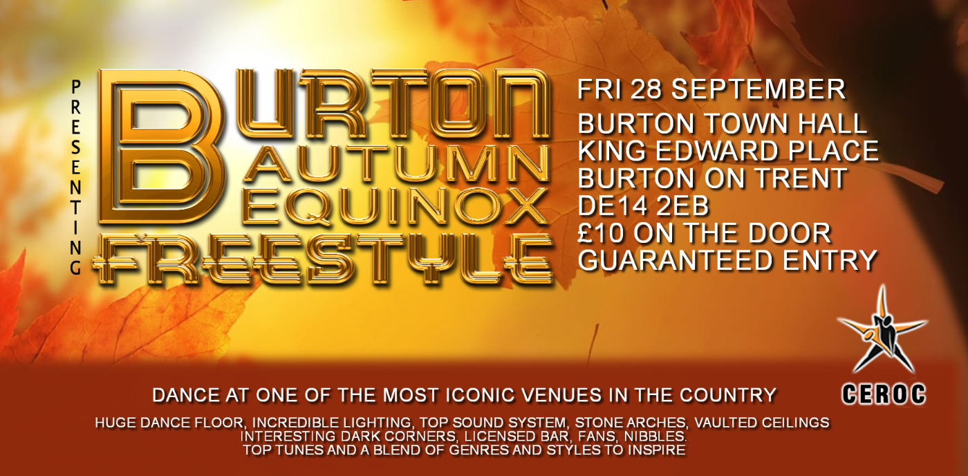 Burton Town Hall Autumn Equinox Freestyle