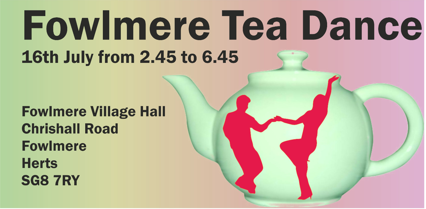 Fowlmere Village hall - Tea Dance Freestyle