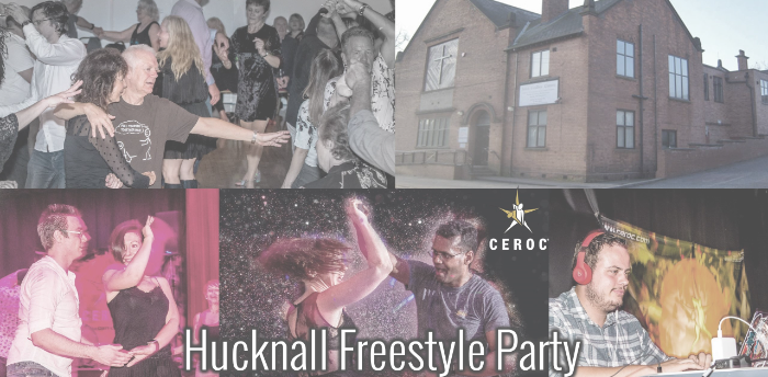 Penciled in Hucknall Freestyle Party