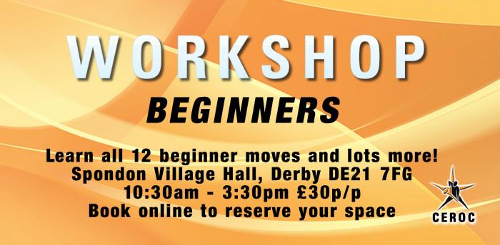 Beginners Workshop - Derby was 03 Oct 2020