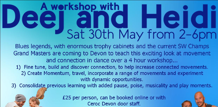 Guest Workshop with Deej and Heidi
