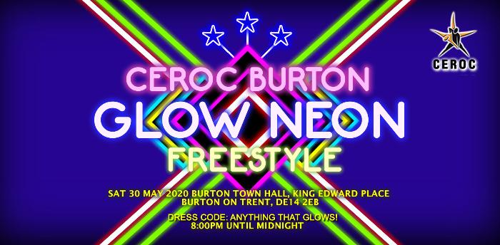 Glow Neon Freestyle - Burton Town Hall