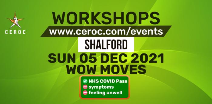 Wow Moves Workshop at Ceroc Shalford Sun 05 Dec 2021