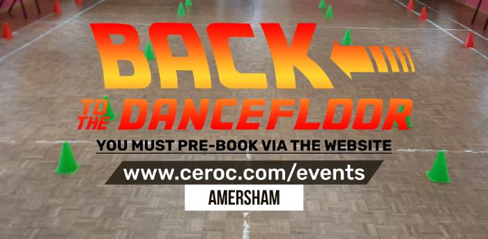 Ceroc Amersham SUNDAY 29 NOV 2020 - Back to the Dancefloor Workshop