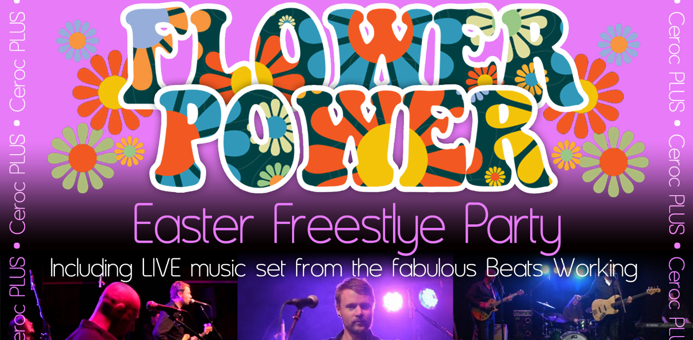 Flower Power Easter Freestyle Party - LIVE Music