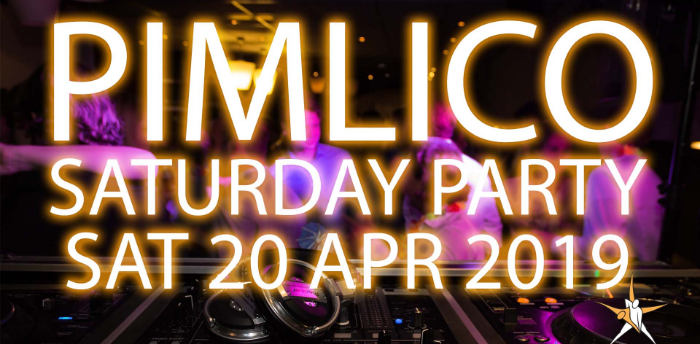 Pimlico Easter Saturday Party April 2019