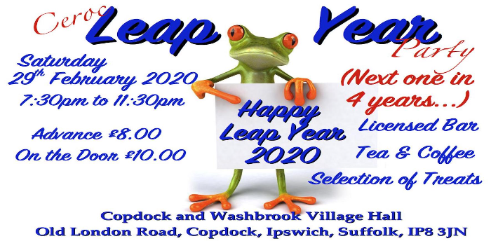 Ceroc Suffolk Leap Year Party