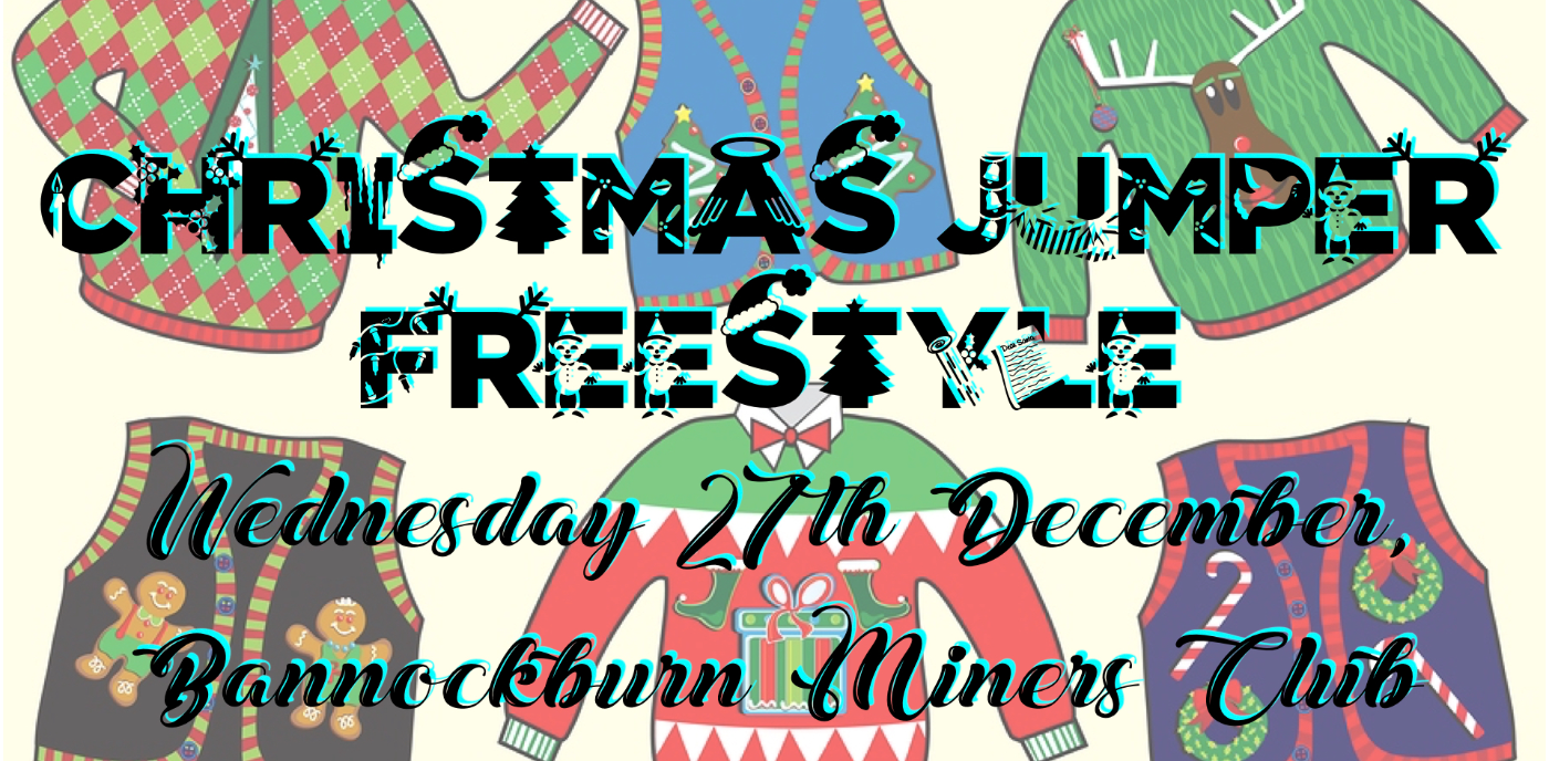 Stirling: Christmas Jumper Freestyle