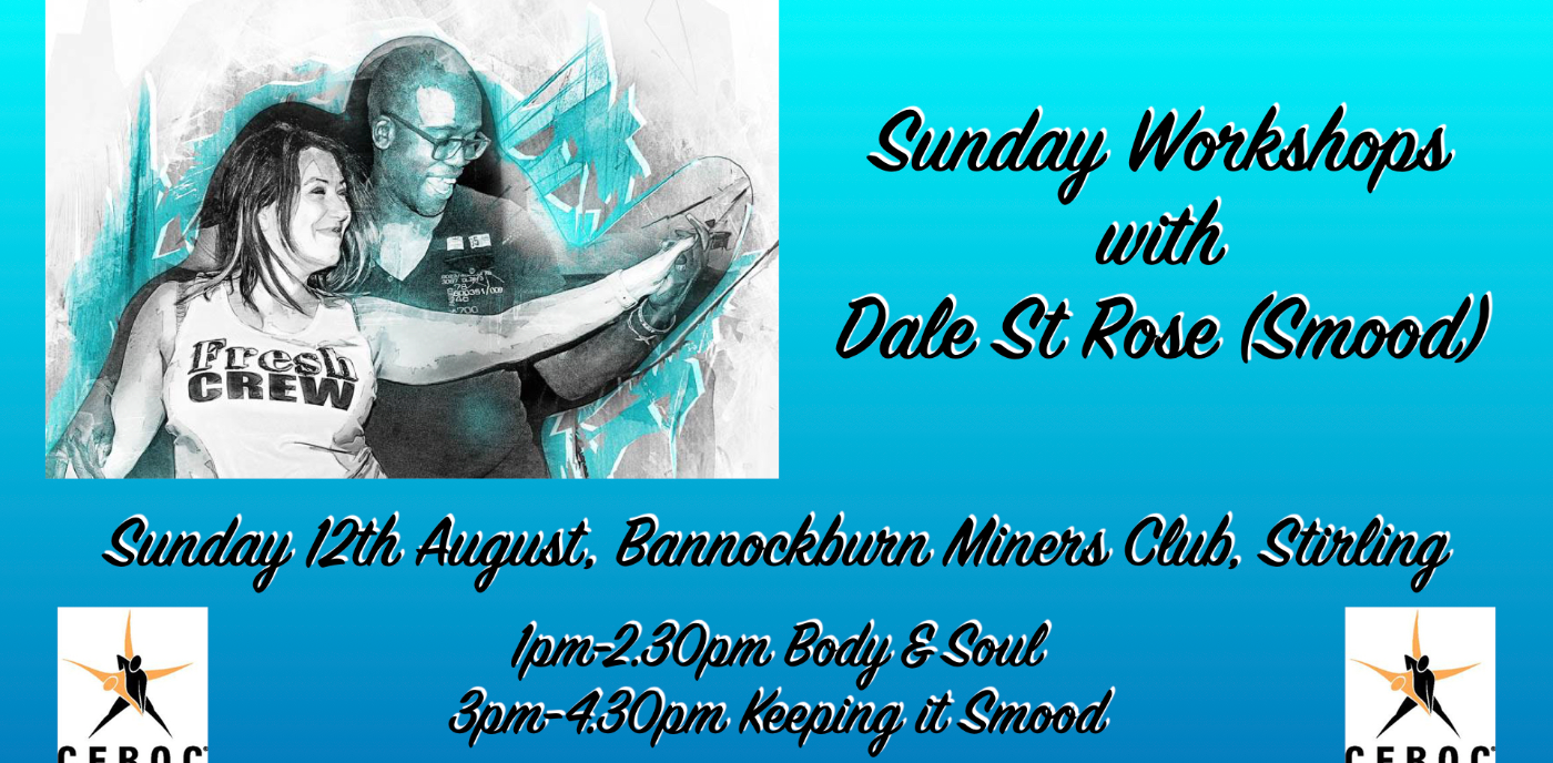 Stirling: Workshops with Dale St Rose