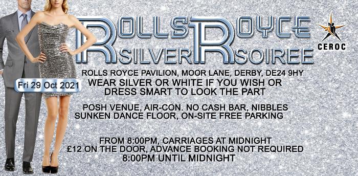Rolls Royce Derby Silver Soiree Freestyle