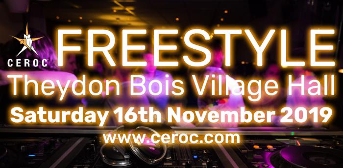 Theydon Bois Ceroc Freestyle Sat 16 Nov 2019