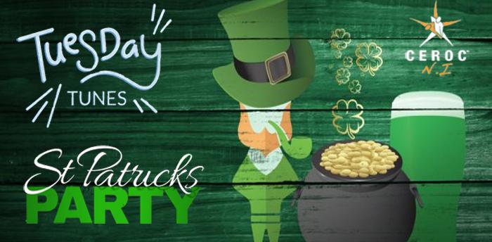 Tuesday Tunes St. Patricks Party
