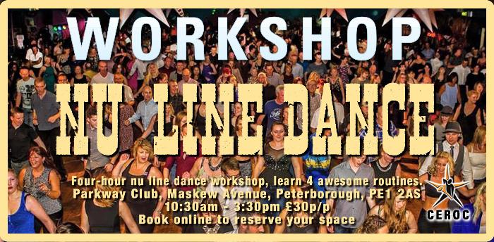 CANCELLED - Workshop - 4 x Nu-Line Awesome Linedances