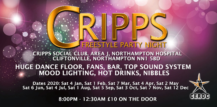 Cripps Freestyle Party Night