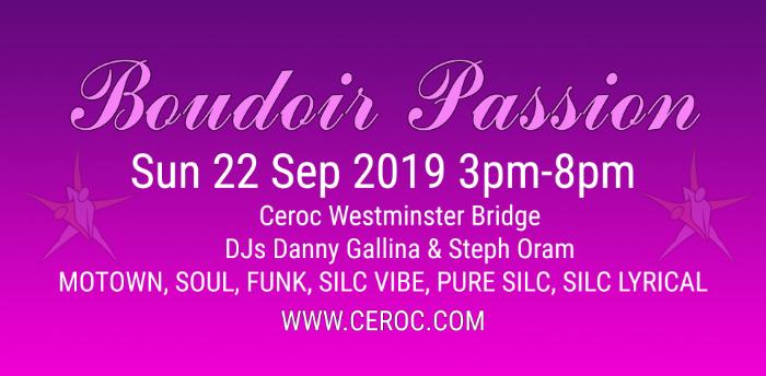 Boudoir Passion @The Bridge September 2019