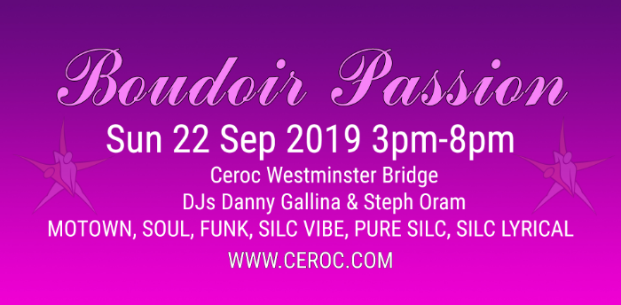 Boudoir September Passion @The Bridge