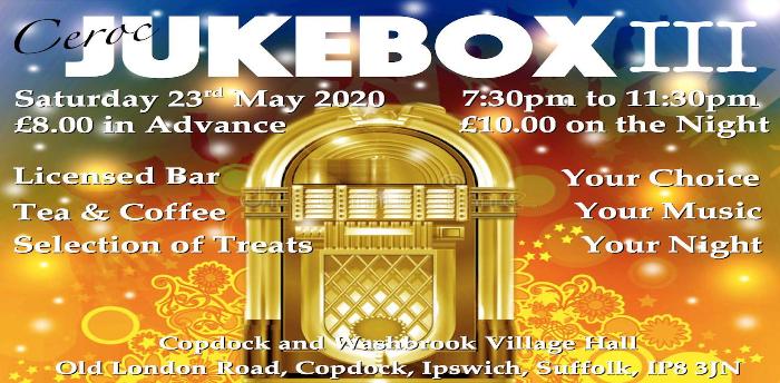 EVENT POSTPONED - Ceroc Suffolk Jukebox III
