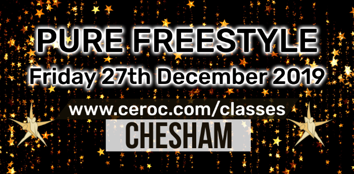 Ceroc Chesham PURE FREESTYLE Fri 27 Dec 2019