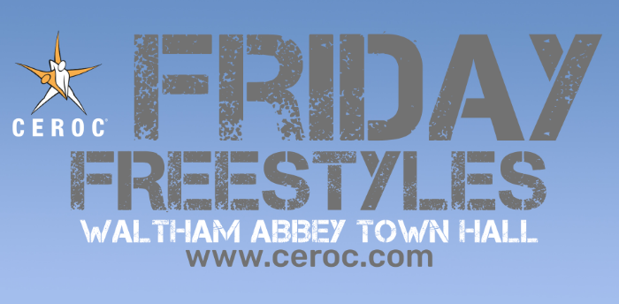 POSTPONED - Ceroc Waltham Abbey Friday Freestyle 15 May 2020