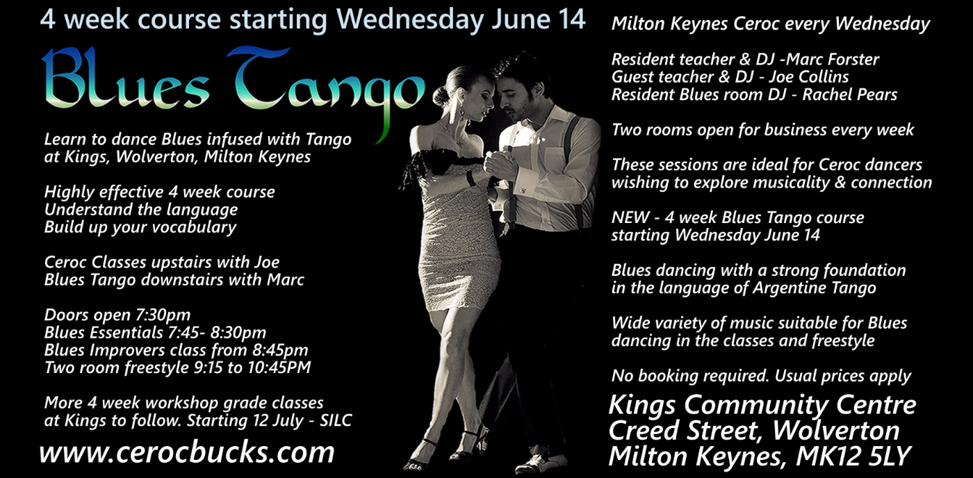 Blues Tango 4 week course