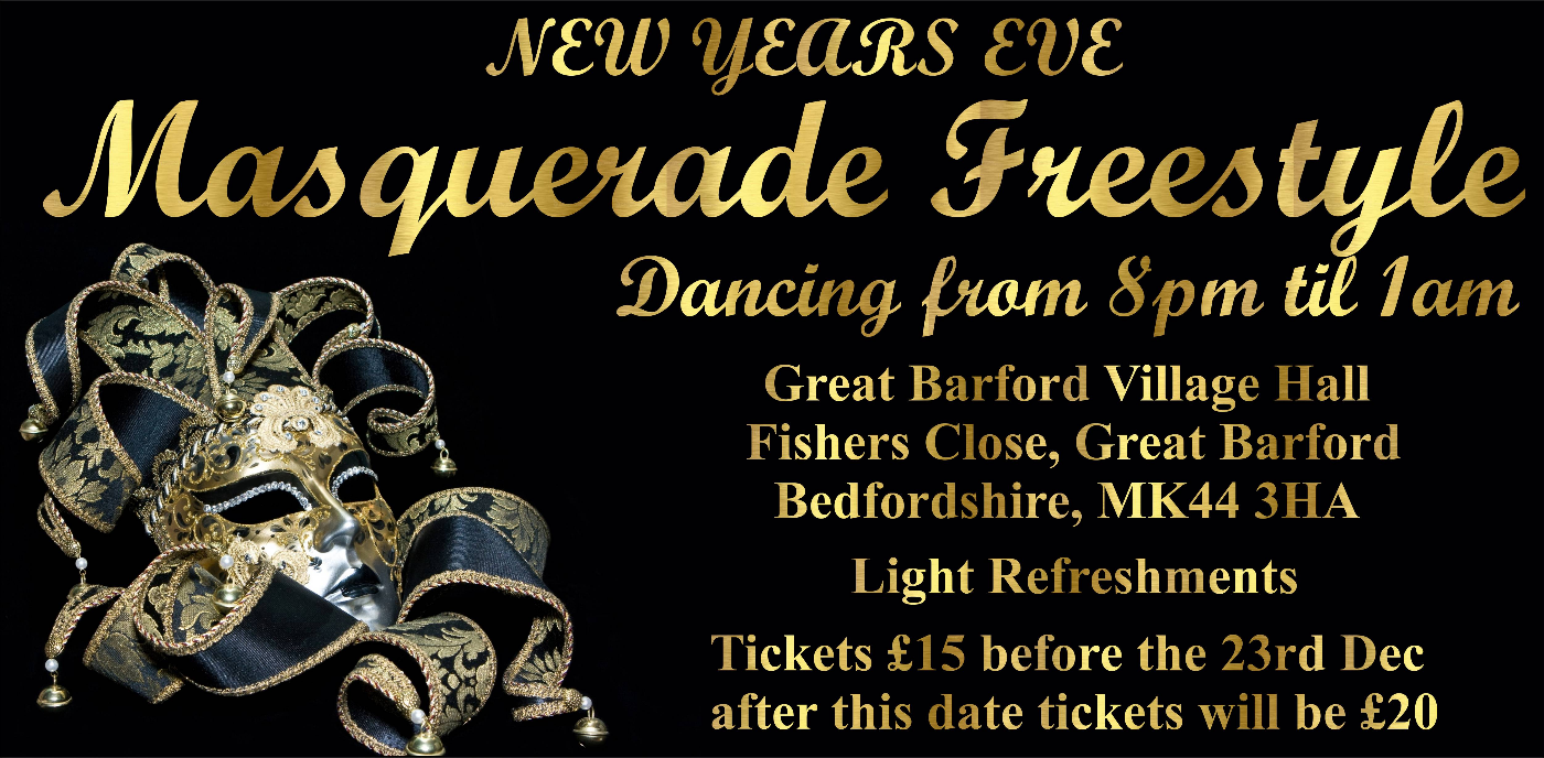 New Year's Eve Freestyle at Great Barford Village Hall