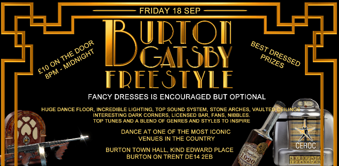 Burton Town Hall Gatsby Freestyle