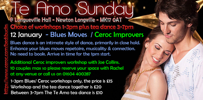 Blues Workshop at Te Amo