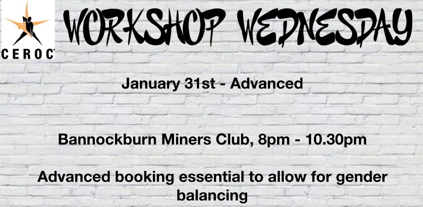 Workshop Wednesday - Advanced