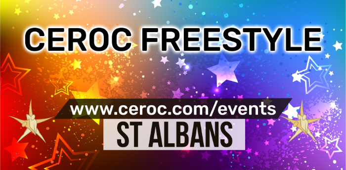 Ceroc St Albans Freestyle Saturday 14 March 2020