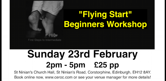 Flying Start Beginners Workshop
