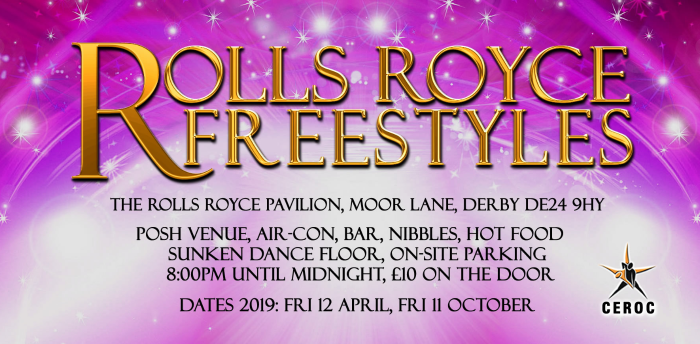 Rolls Royce Derby Freestyle