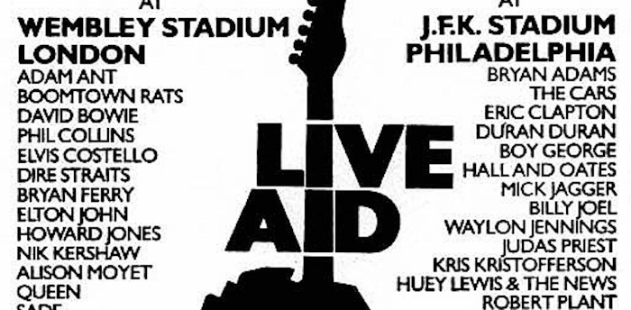 Live Aid Relived Freestyle