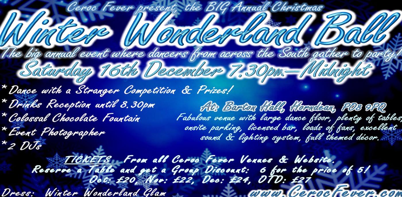 BIG Annual Winter Wonderland Ball