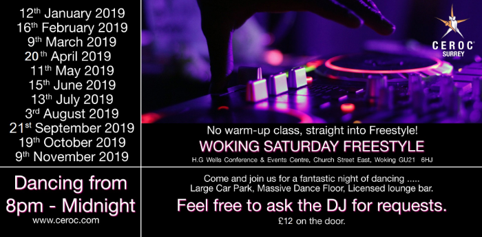 Woking Saturday Freestyle