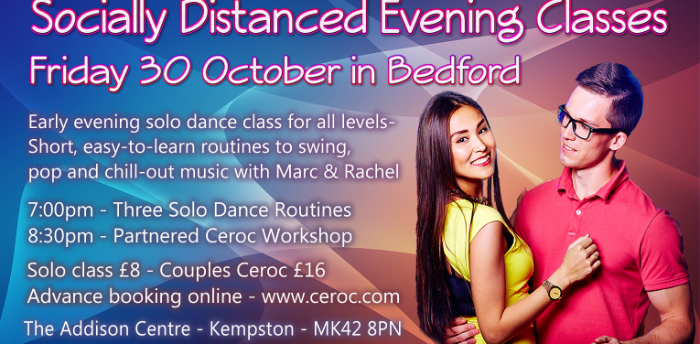 Socially Distanced Evening Classes