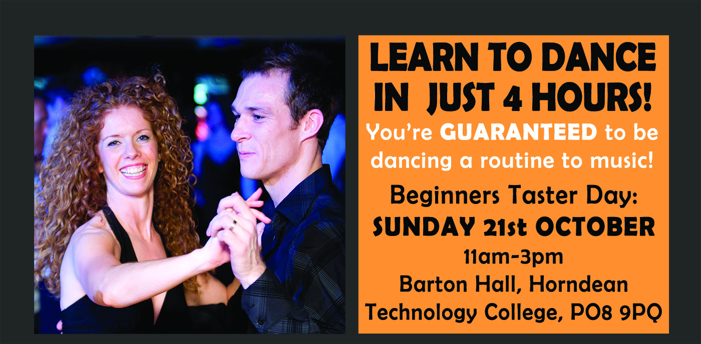 £5 Beginners Learn To Dance In A Day Workshop