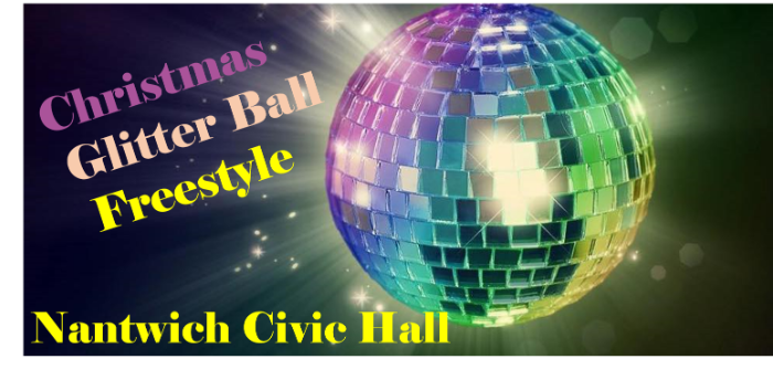 Ceroc Addiction Nantwich 2 Room Christmas Glitter Ball Freestyle