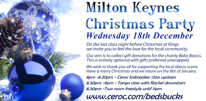 Milton Keynes Christmas Party