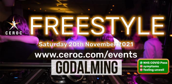 Ceroc Godalming 2 Room Freestyle Saturday 20 November 2021