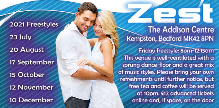 Zest Freestyle In Bedford with Marc & Rachel