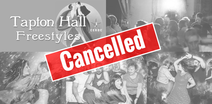 CANCELLED Tapton Hall Freestyle