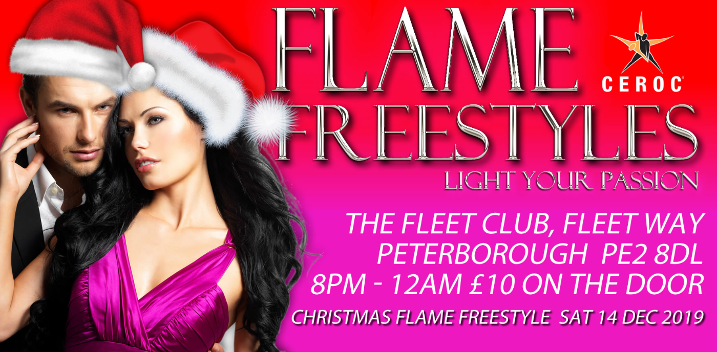 Christmas FLAME Freestyle Peterborough