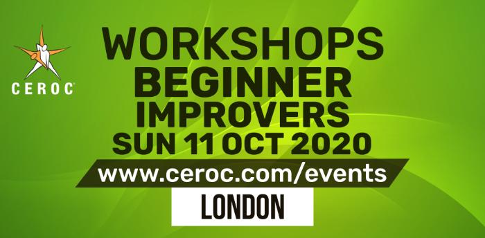 Ceroc Beginner Improvers Dance Workshop Sun 11 Oct 2020
