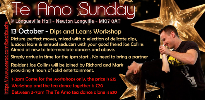 Dips & Leans Workshop £15