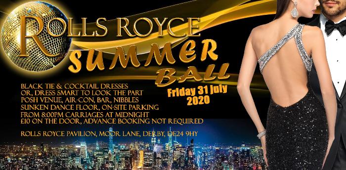 Cancelled - Rolls Royce Summer Ball