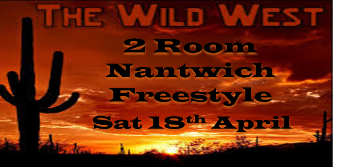 Ceroc Addiction Nantwich 2 Room Wild West Freestyle
